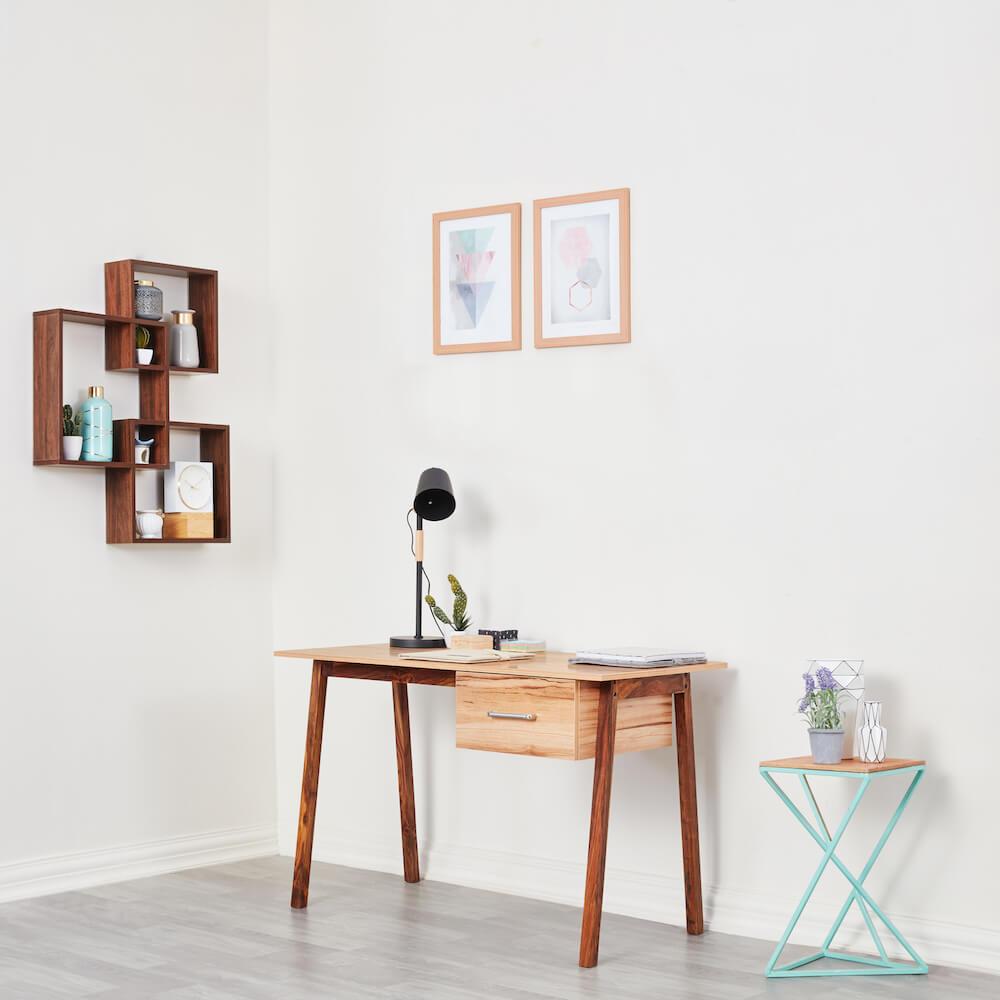 Wakefit Apollo Study Table - Authentic Ash Light