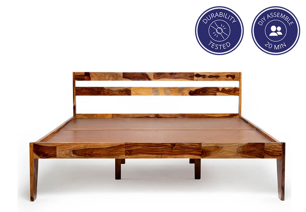 Centaurus Sheesham Wood Bed
