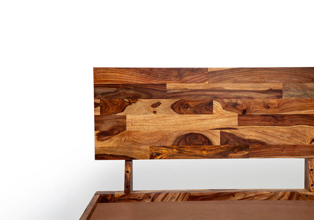 sheesham wood bed assembly video