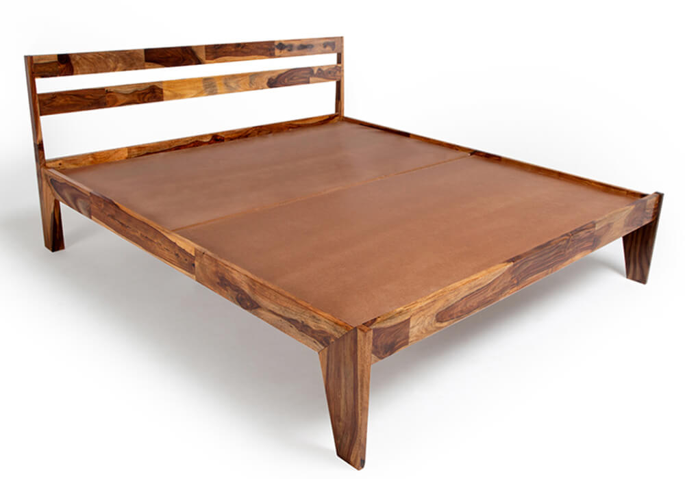 Sheesham Wood Bed Price