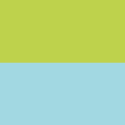 Parrot Green and Aqua