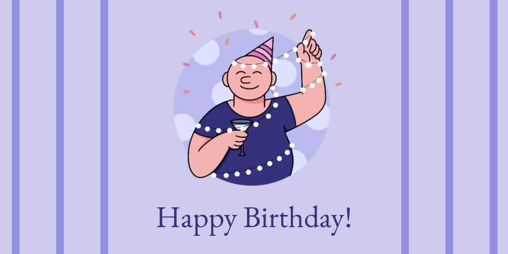 Wakefit Gift Card Happy Birthday