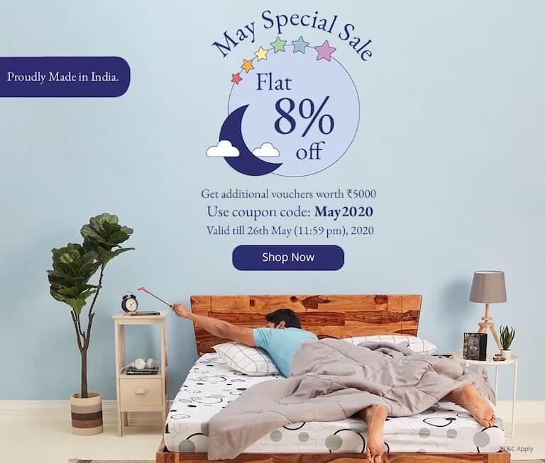 Buy Mattress Online - Wakefit