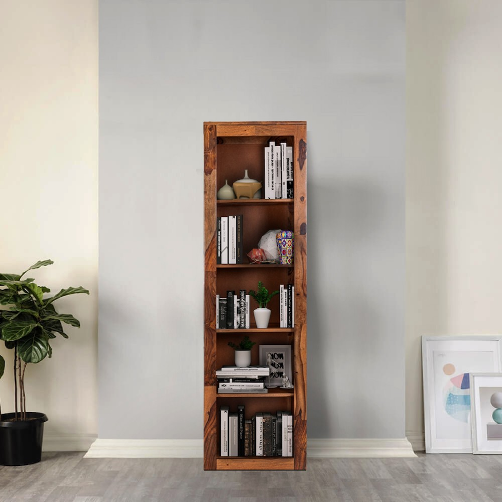 Wakefit Brooks Sheesham Wood Bookshelf