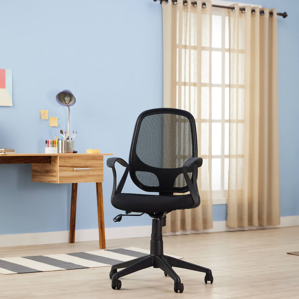 Wakefit Aries Medium Back Office Chair