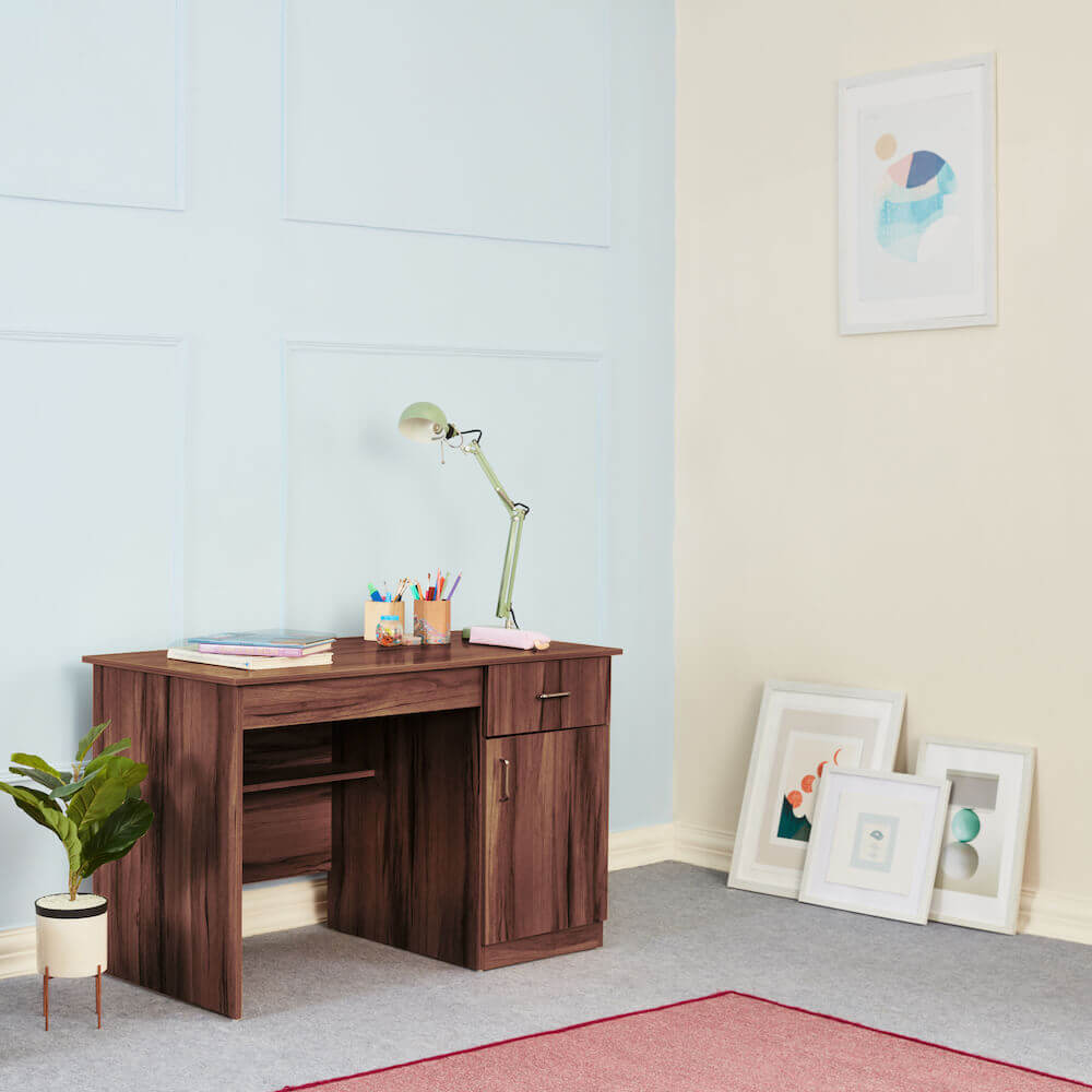 Wakefit Athena Study Table - Columbian Walnut