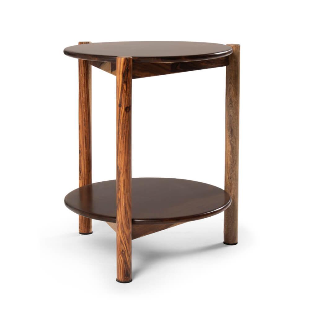 Wakefit Atlas Sheesham Wood Side Table