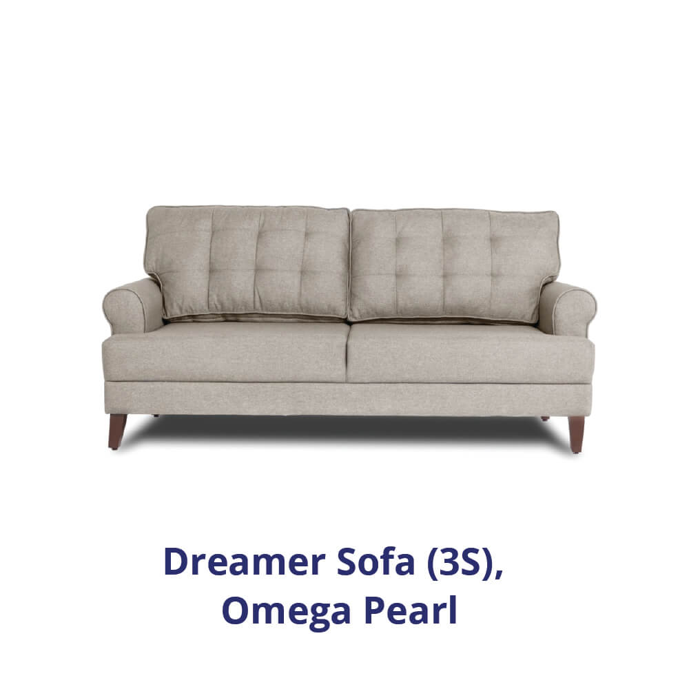 Wakefit Dreamer Sofa - Three Seater