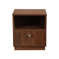 Wakefit Elara Single Drawer Bedside Table
