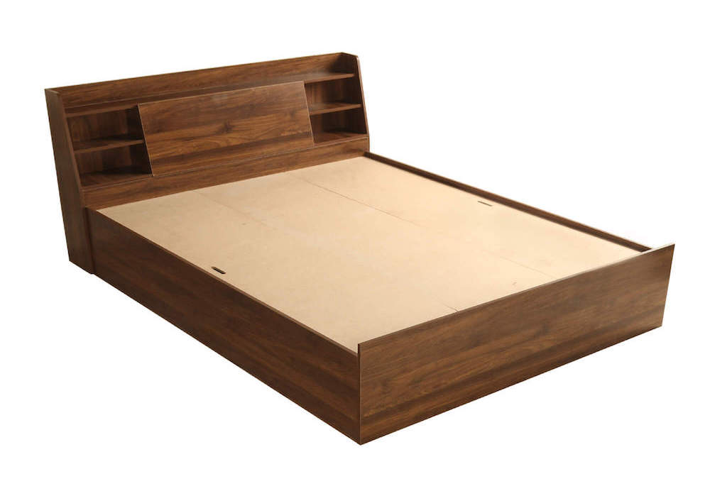 Wakefit Leo Storage Engineered Wood Bed