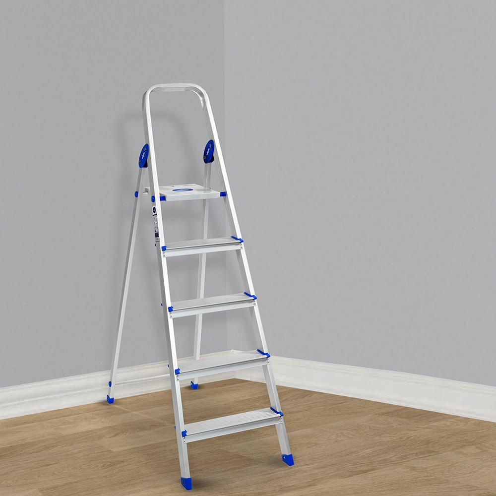 Wakefit Kaplan Aluminium 5 Step Ladder