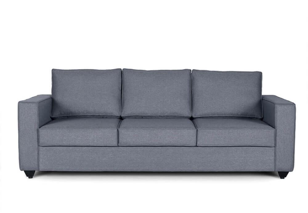 Wakefit Napper Mini Sofa - 3 Seater (1.94m*85.09cm*85.34cm) / (76.5*33.5*33.6inch)
