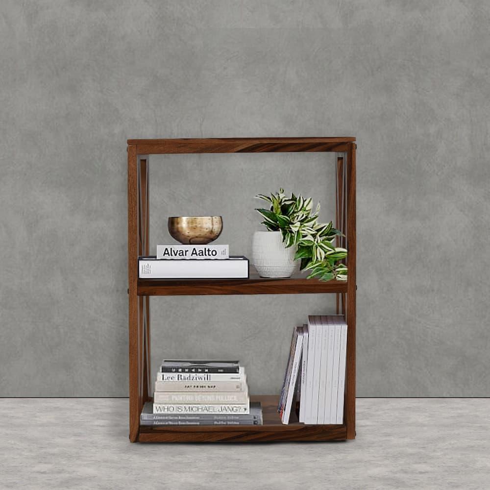 Wakefit Oliver Sheesham Wood Bookshelf