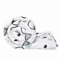 Wakefit Siliconised Microfibre Cotton Printed Comforter (Dreamy Bubbles)