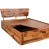 Wakefit Auriga Sheesham Wood Bed with Storage