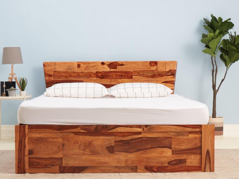 Wakefit Sheesham Wood bed