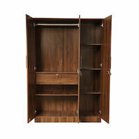 Wakefit 3 Door Wardrobe With Drawer