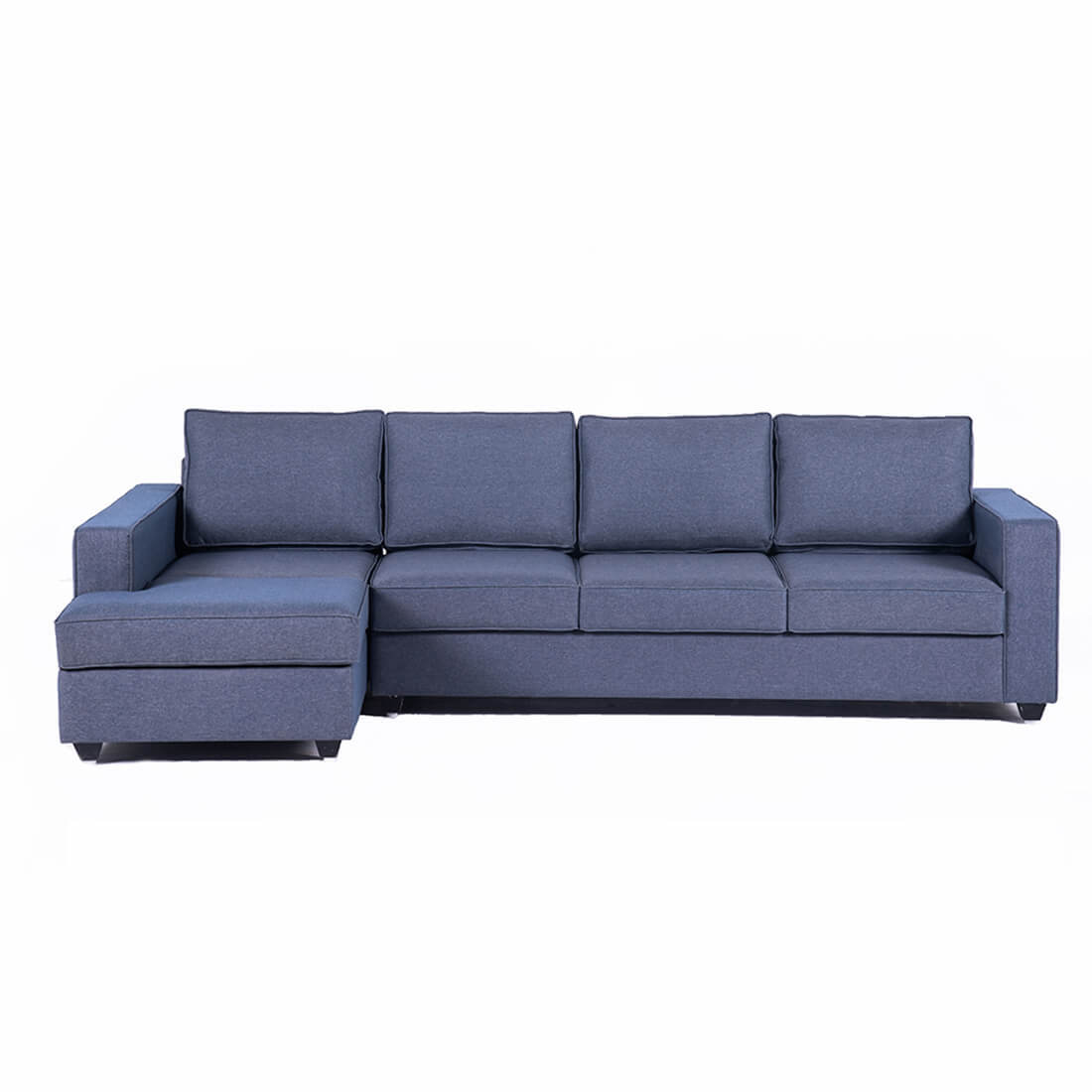 Wakefit Napper L Shape Sofa Set (3 Seater + Left Aligned Chaise)