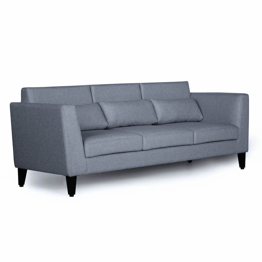 Wakefit Snoozer Sofa - Three Seater - Omega Pearl