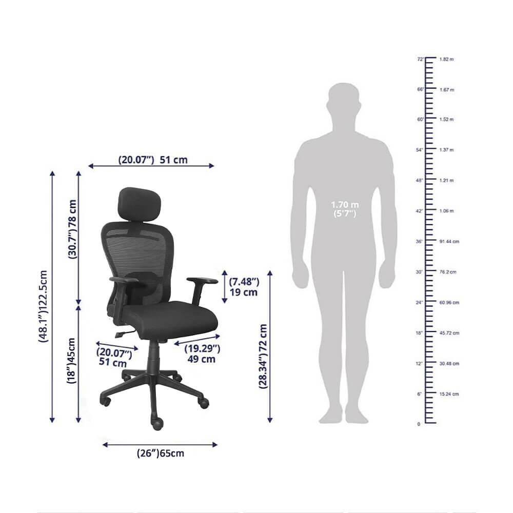 Virgo Study Chair