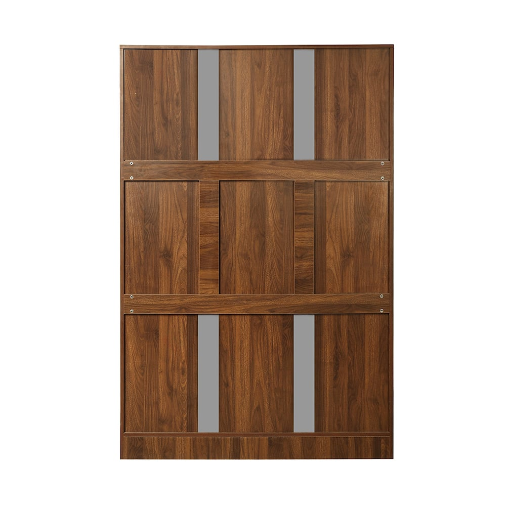 Tartan 3 door Wardrobe with Drawer