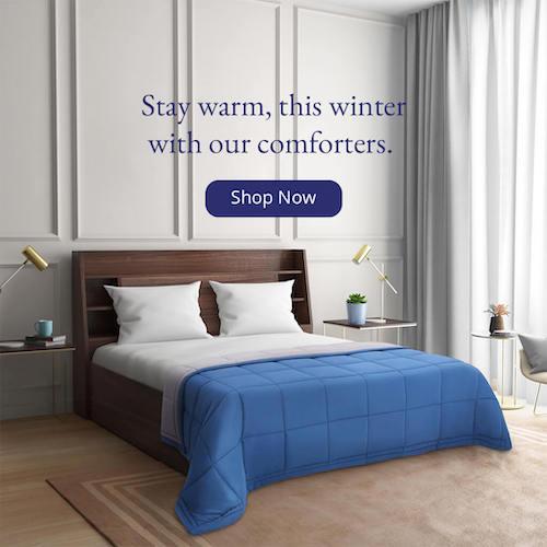 Comforters Banner