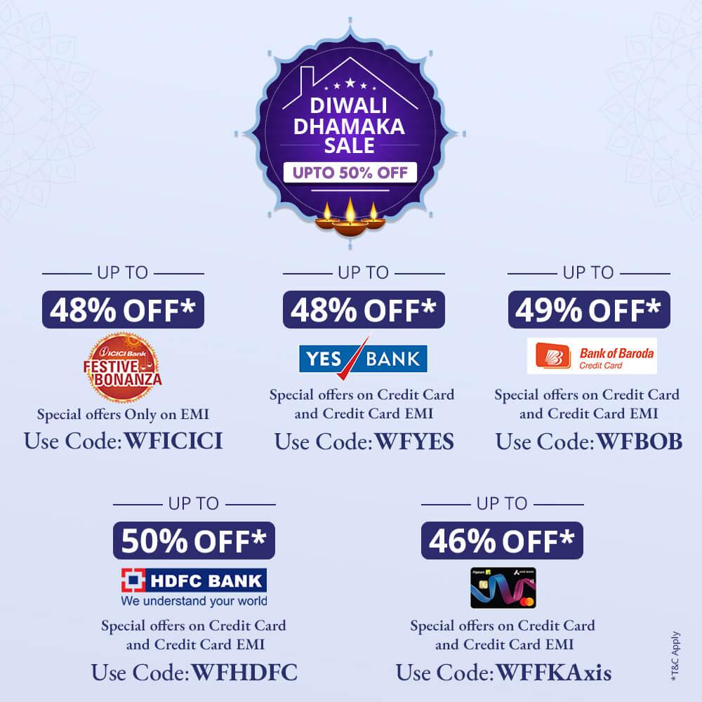 Early Diwali Banks Sale Banner