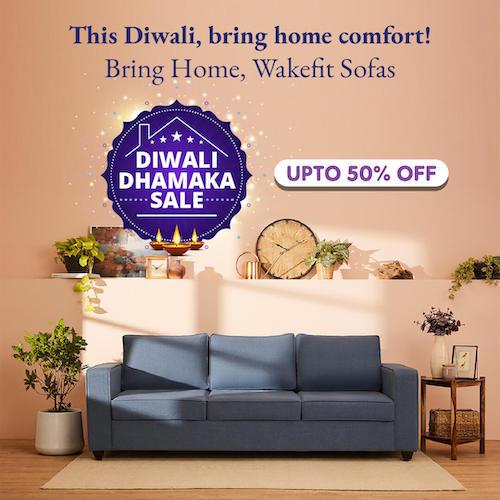 Early Diwali Sofa Set Sale Banner