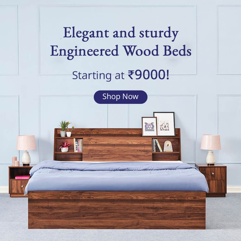 Engineered wood Beds Banner