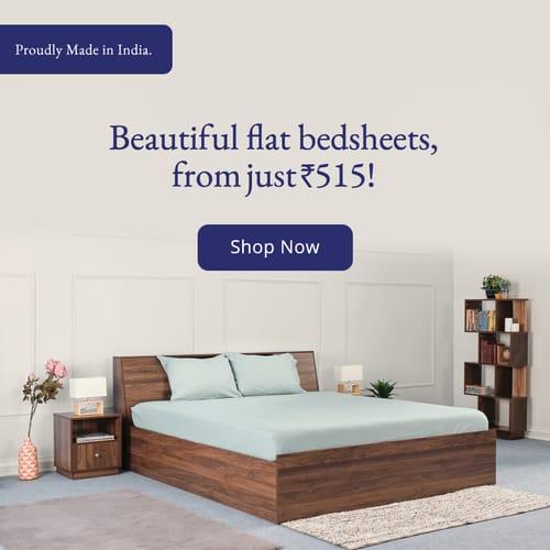 Flat Bedsheet Banner