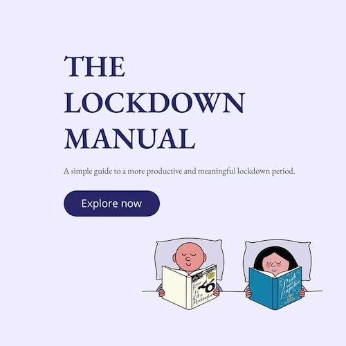 The Lockdown Manual Banner