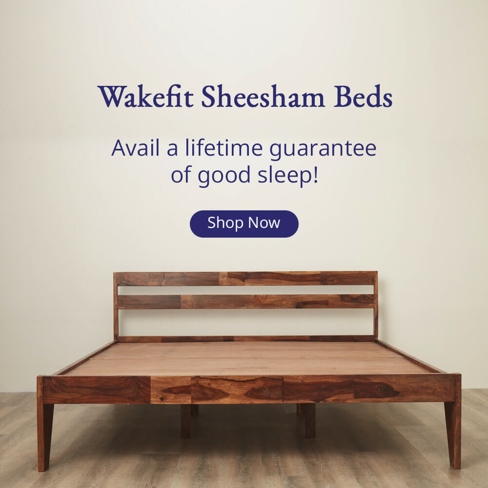 Sheesham wood Beds Banner