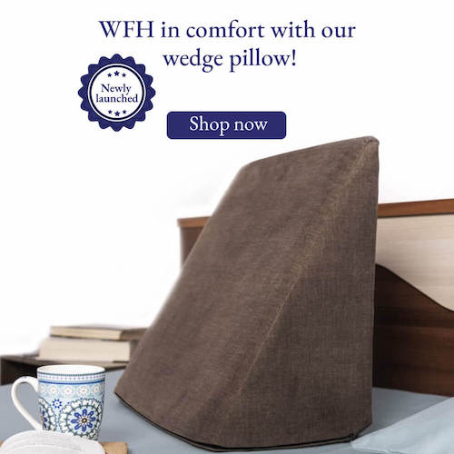 Wedge Pillow Sale banner